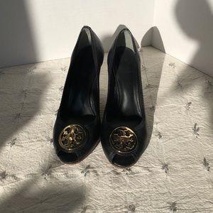 Tory Burch Wedge Heels 9.5